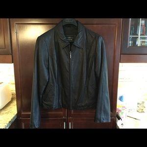 Ladies Leather Jacket (Large)